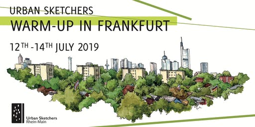 Urban Sketchers Warm-Up in Frankfurt