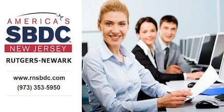 RNSBDC NJ Business Registration Workshop tickets