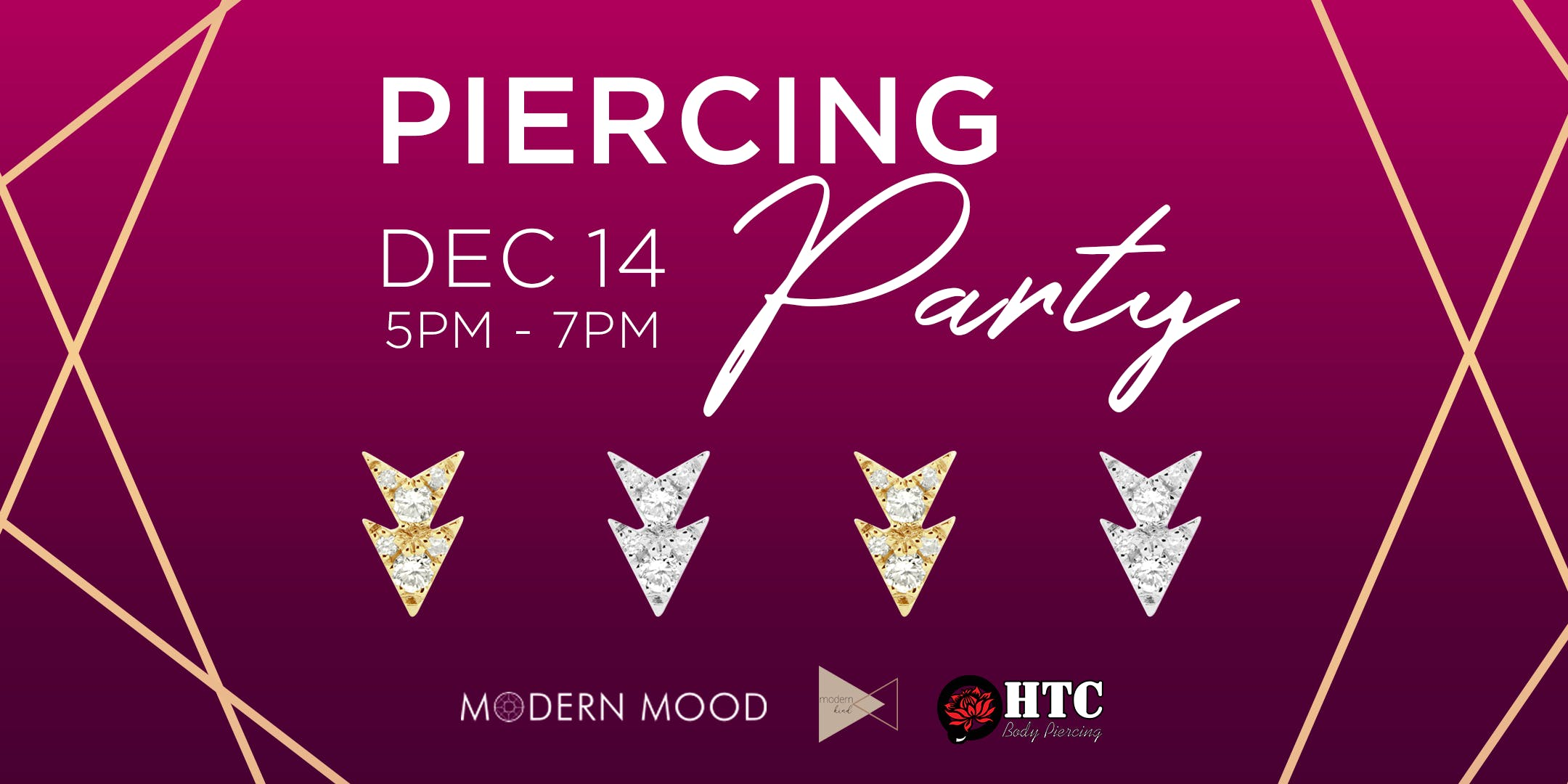 Curated Ear Piercing Party