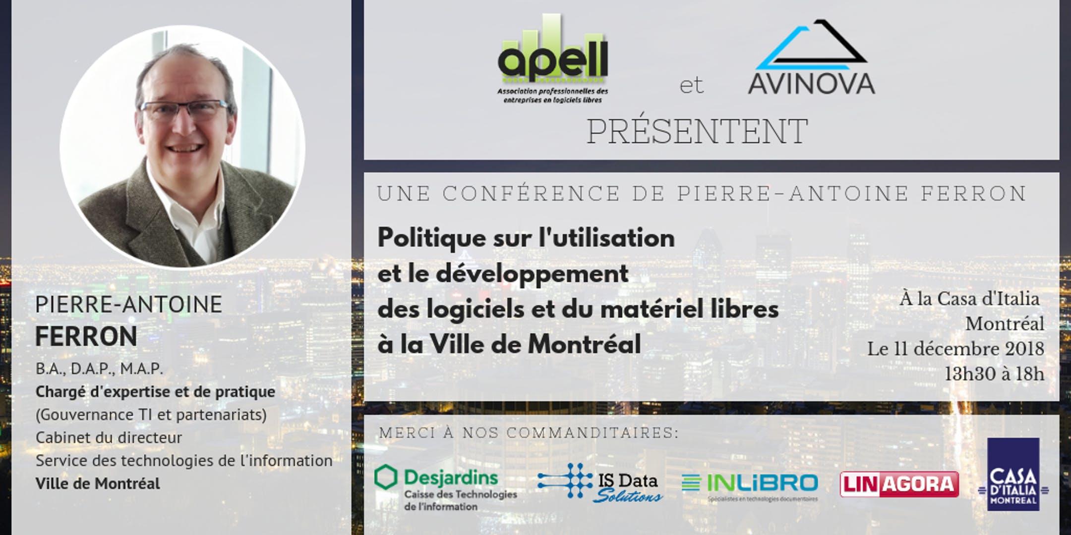 Ville de Montréal & Logiciel Libre : quelles