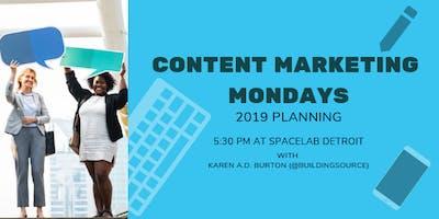 Content Marketing Mondays