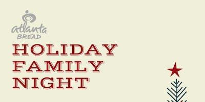 Kids & Family Night At Atlanta Bread Company