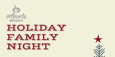 Kids & Family Night At Atlanta Bread Company