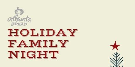 Kids & Family Night At Atlanta Bread Company tickets