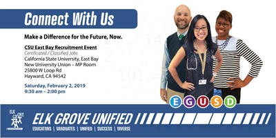 Elk Grove Unified School District - Recruitment Event