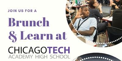 Chicago Tech Academy High School Counselors' Brunch