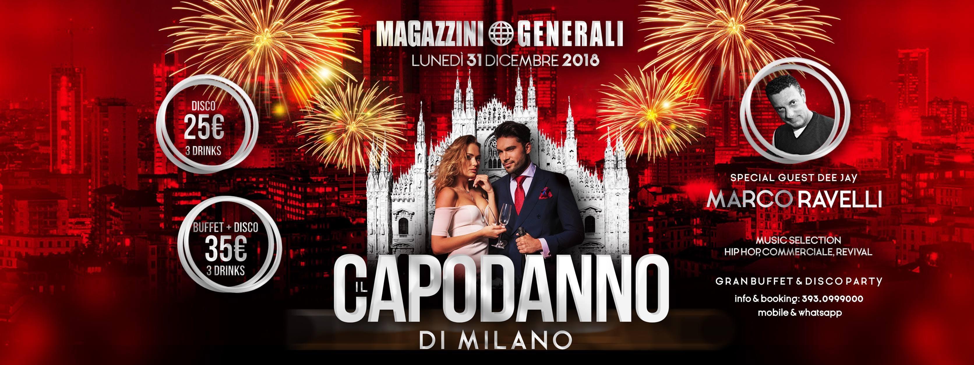 Capodanno 2019 Magazzini Generali