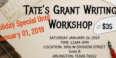 Grant Writing Workshop- Arlington Texas