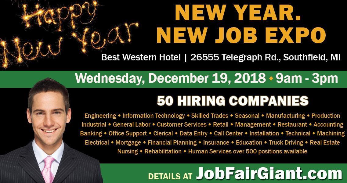 Detroit Job Fair - December 19, 2018