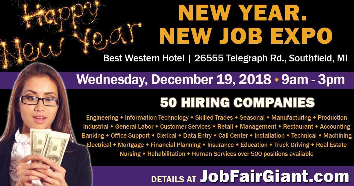 Southfield Job Fair - December 19, 2018