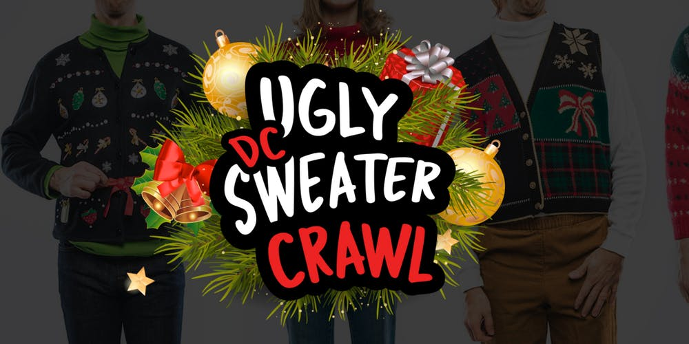 Dc Christmas Sweater.Dc Ugly Sweater Crawl