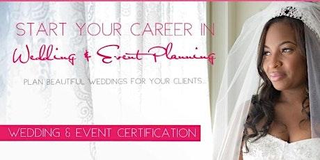 Wedding & Event Planning Certificate- ONLINE CLASS tickets