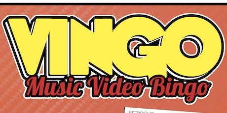 VINGO: Music Video Bingo. Watch & Play! tickets