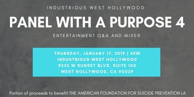 Panel with a Purpose 4: Hollywood Gives Back
