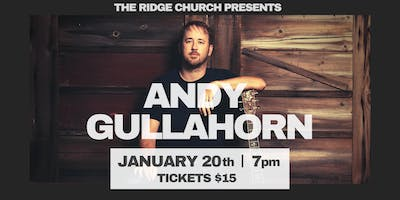 Andy Gullahorn at The Ridge Church in Carrollton, TX