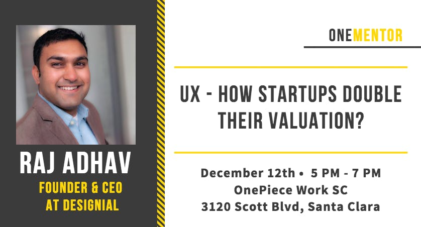 OneMentor: UX - How Startups Double Their Val