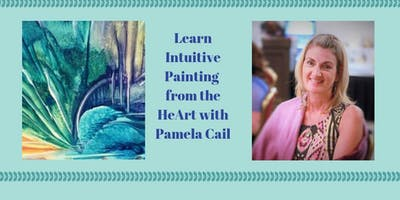 Learn Intuitive Painting from the HeArt with Pamela Cail (Soul Portraits RainbowRea)