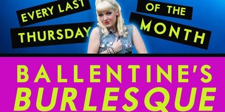 Ballentine's Burlesque tickets