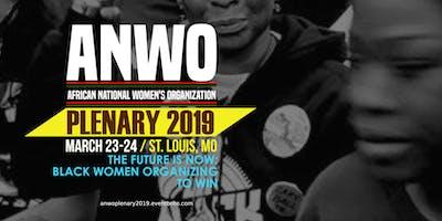 ANWO National Plenary 2019
