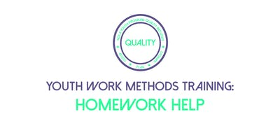 Youth Work Methods Training: Homework Help