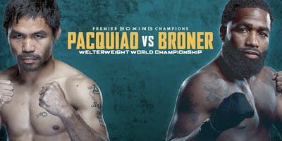WBA Pacquiao VS Broner: Bar & Lounge Pent