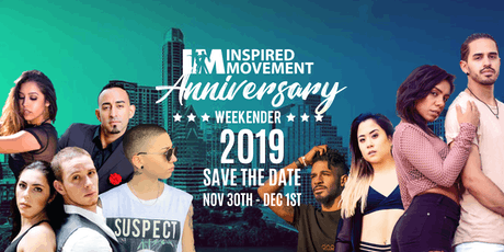 Inspired Movement Anniversary Weekender 2019 Tickets