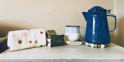 West Elm Inspired Tea Set  - DIY Workshop with Marisol