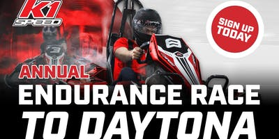 Annual Endurance Race to Daytona at K1 Speed