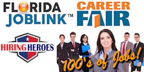 CLEARWATER JOB FAIR - PINELLAS JOB LINK 2019 - NEW DATE JULY 23! tickets