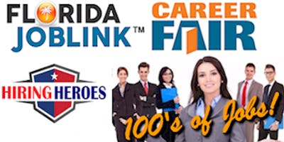 TAMPA / BRANDON / LAKELAND FLORIDA JOBLINK HIRING HEROES CAREER FAIR