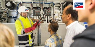 Preventative and Corrective Maintenance of Sunny Central Storage Inverters | 16 Sep - 19 Sep