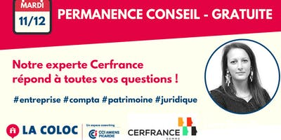 Permanence Conseil - Cerfrance - gratuite