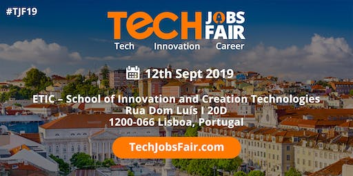 Tech Jobs Fair Lisbon - 2019