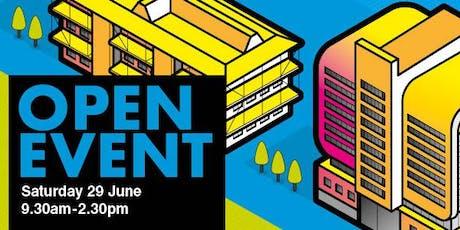 Newcastle College Open Event Saturday 29 June tickets