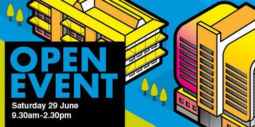 Newcastle College Open Event Saturday 29 June