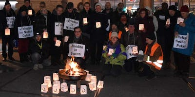Silent vigil for victims of religious persecution