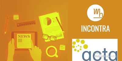 Incontro con ACTA -Associazione dei Freelance
