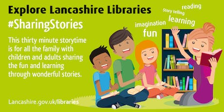 Sharing Stories - Family Story Time (Preston) #SharingStories tickets