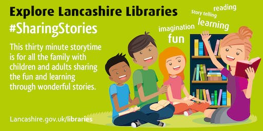 Sharing Stories - Family Story Time (Preston) #SharingStories