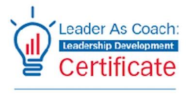 Colorado Leader As Coach Leadership Development Master Class (blr) S