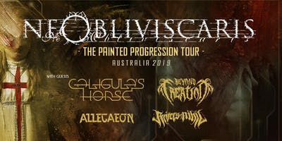 Ne Obliviscaris - Sydney | The Painted Progression Tour