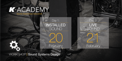 Sound Systems Design Workshop