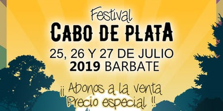 Festival Cabo de Plata 2019 billets