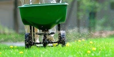 Florida friendly fertilizing