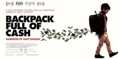 "Screening of ""BACKPACK FULL OF CASH"" narrated by Matt Damon"