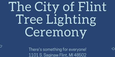 City of Flint Tree Lighting Ceremony