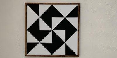 January 22nd Barn Quilt Make & Take Pattern 3