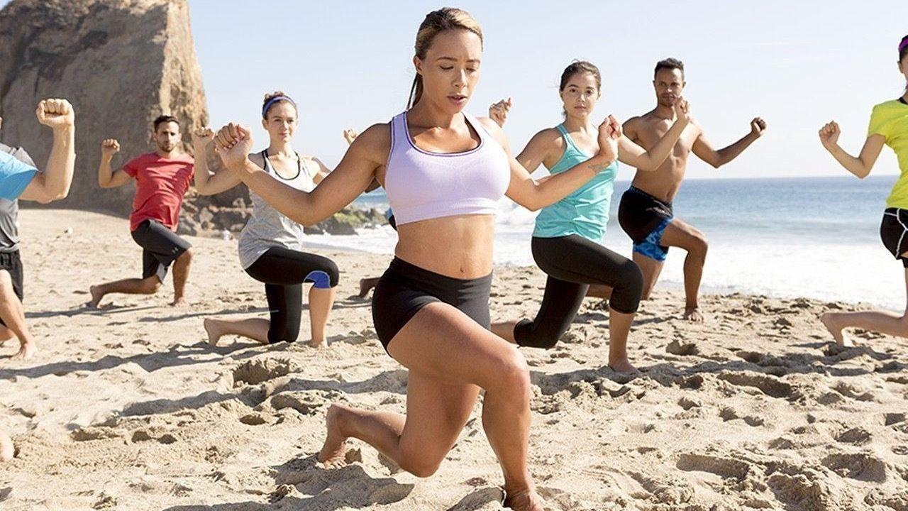 Fun in the Sun! Tai Chi on the Pier, Self-Defense, Power Plyometrics