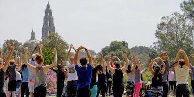Sunday Yoga in Balboa Park w/ Live Music