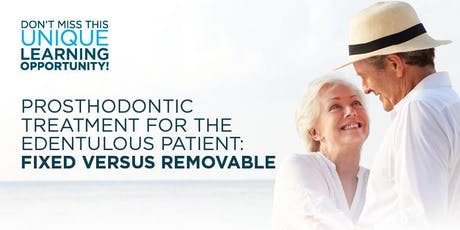 Treatment for the Edentulous Patient: Fixed versus Removable,Tulsa, OK  tickets